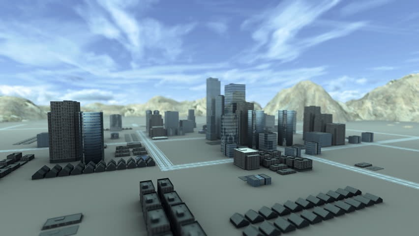 Growing city with lots of buildings forming a cityscape.
