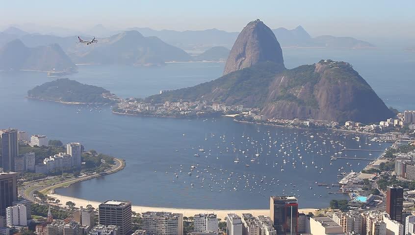 Sugar loaf mountain Rio de Janeiro Brazil    Shutterstock HD Video #3940898