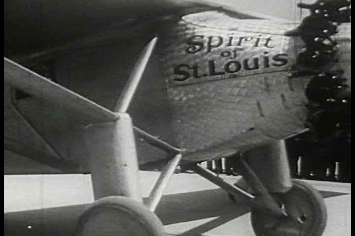1920s - Charles Lindberg helps promote air travel. The beginnings of the airline industry is shown.