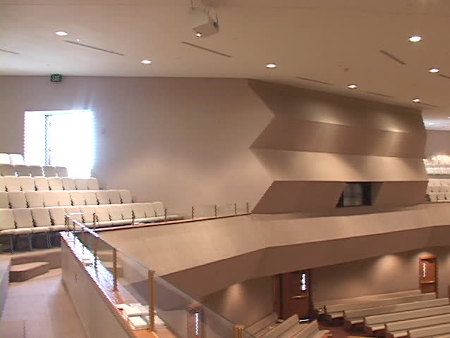Modern Church Interior Stock Footage Video Shutterstock