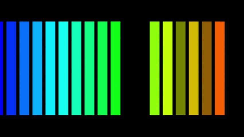 powerful technology light video animation, loop HD 1080p