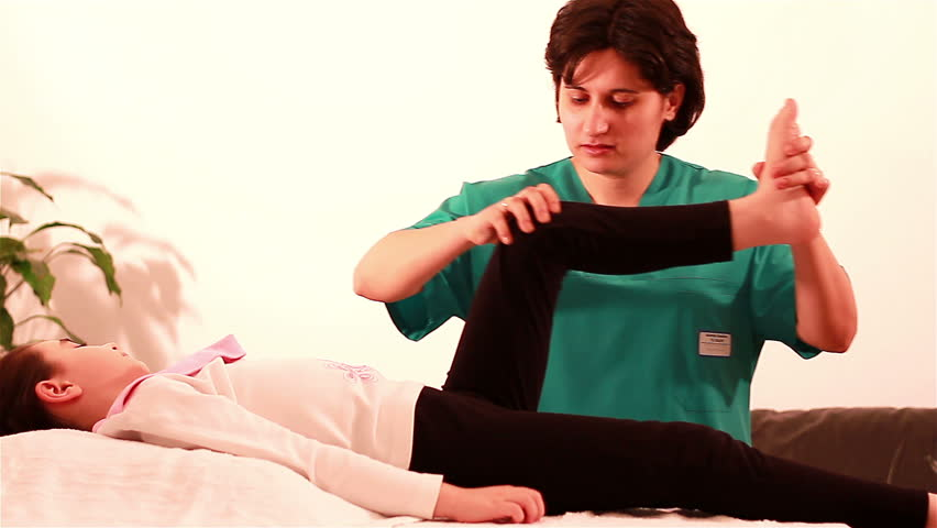 Therapeutic Exercise for children to legs. Exercise therapy for children with mobility problems