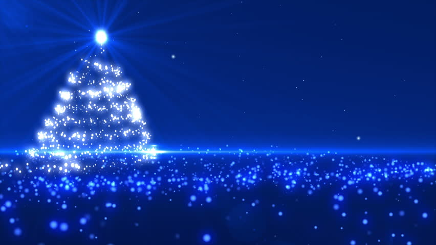 blue christmas tree background loopable stock footage video 100 royalty free 4031224 shutterstock - Blue Christmas Background