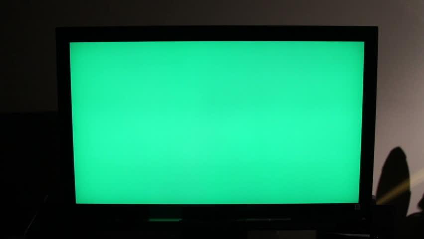HD TV Green Screen  | Shutterstock HD Video #4154614