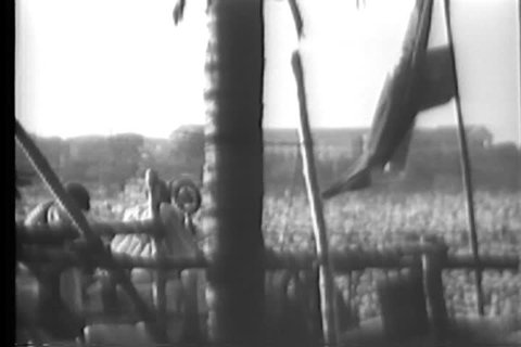 1930s - Raw silent footage of Gandhi in India in 1930.