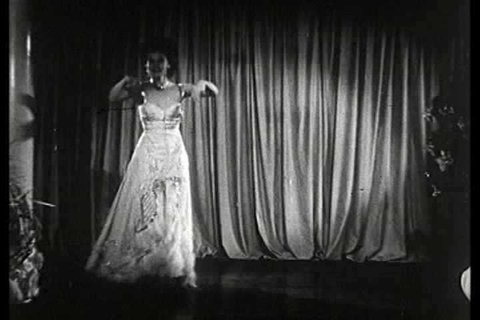 1930s - Georgia Southern performs an erotic burlesque striptease in this 1930s stag film.