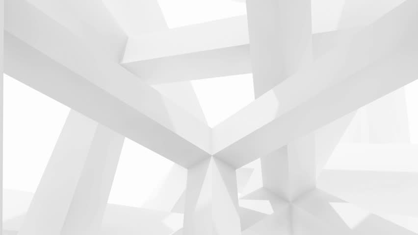 Abstract Architecture Background Stock Footage Video