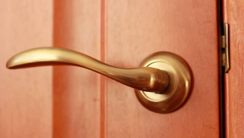 Men\u0027s Hand Opens And Closes The Door Stock Footage Video 4350734 | Shutterstock & Men\u0027s Hand Opens And Closes The Door Stock Footage Video 4350734 ...
