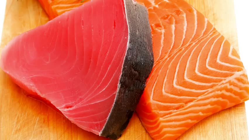 Image result for salmon and tuna