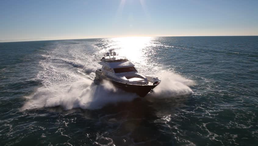 Header of yacht