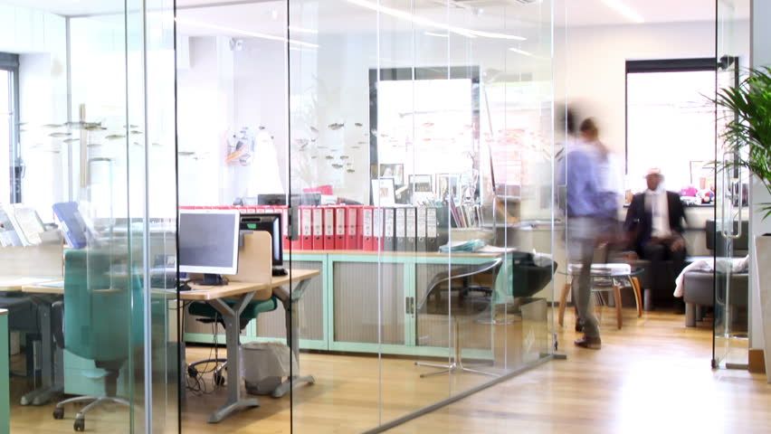 Time lapse shot of a young and attractive business team of mixed ethnicity, working together in a busy contemporary office. | Shutterstock HD Video #4391216
