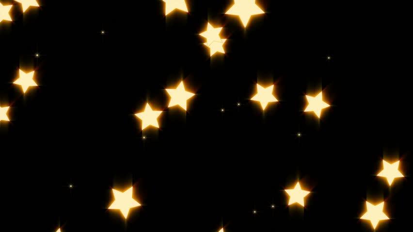 Falling Golden Star cartoon #4427834