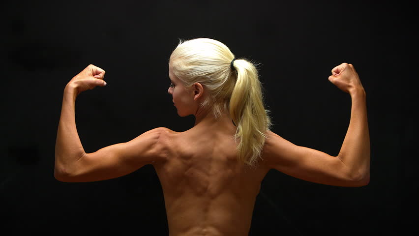 Female Bodybuilder Stock Video Footage - 4K And Hd Video -1035