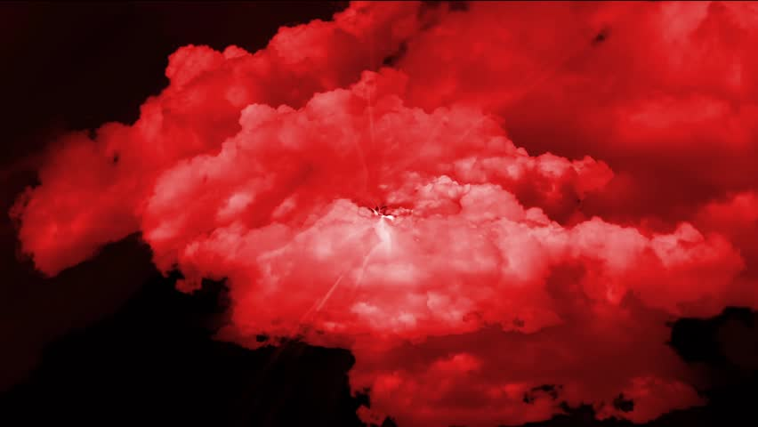 stock video of red cloud in space 4434434 shutterstock