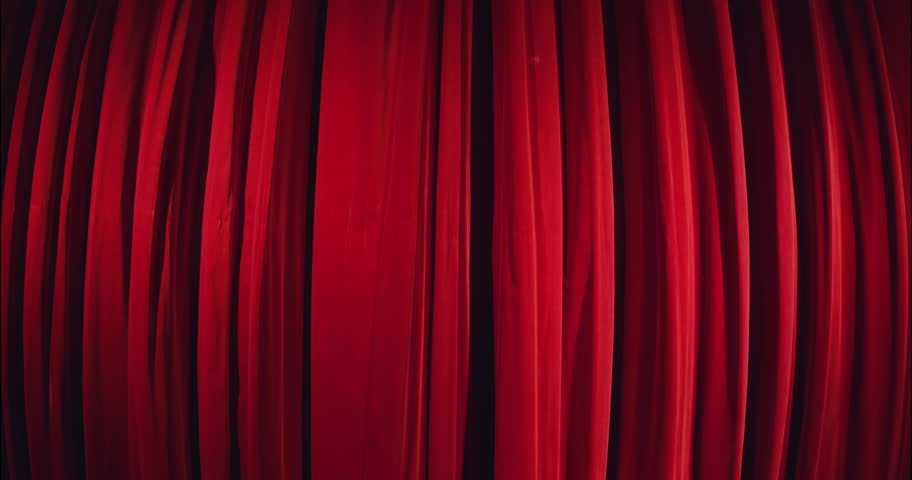 Real theater curtain opening shoot with extreme wide angle lens on RED Scarlet and leaving enough time at the beginning. Masking in post for a alpha channel. | Shutterstock HD Video #4442624