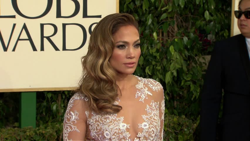 BEVERLY HILLS - January 13, 2013: Jennifer Lopez at the Golden Globe Awards 2013 in the Beverly Hilton Hotel in Beverly Hills January 13, 2013