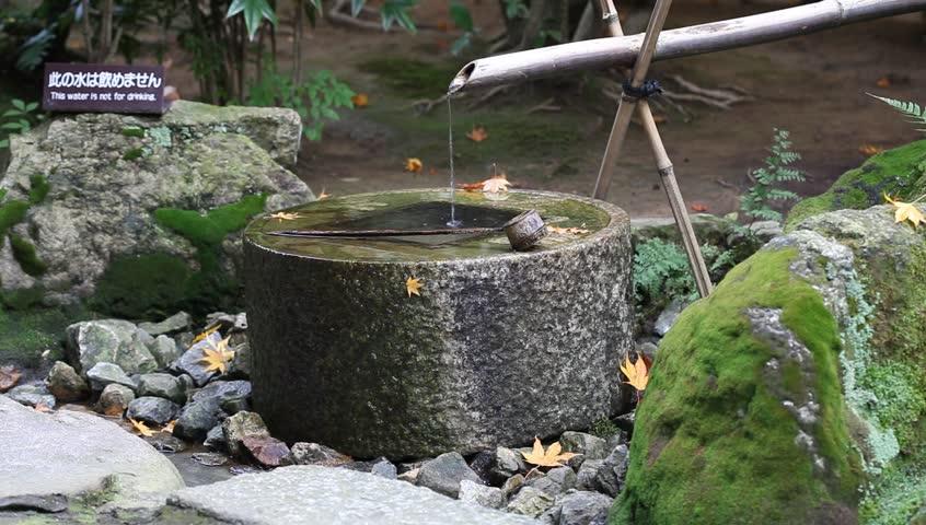Japanese Style Traditional Bamboo Fountain Stock Footage Video 100 Royalty Free 4455824 Shutterstock