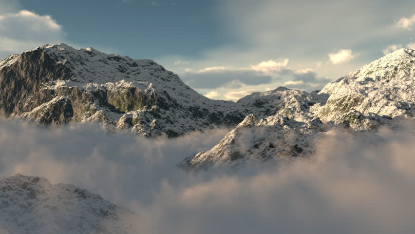 Clouds Mountain | Shutterstock HD Video #452908