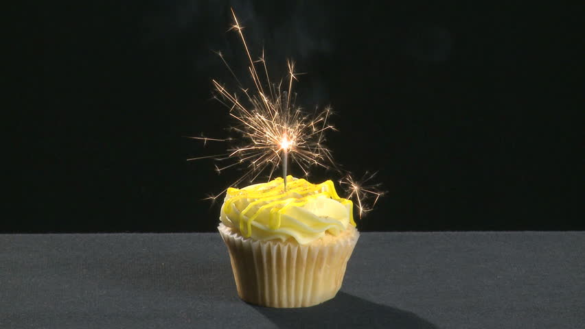 A Vanilla Cupcake On Stock Footage Video 100 Royalty Free