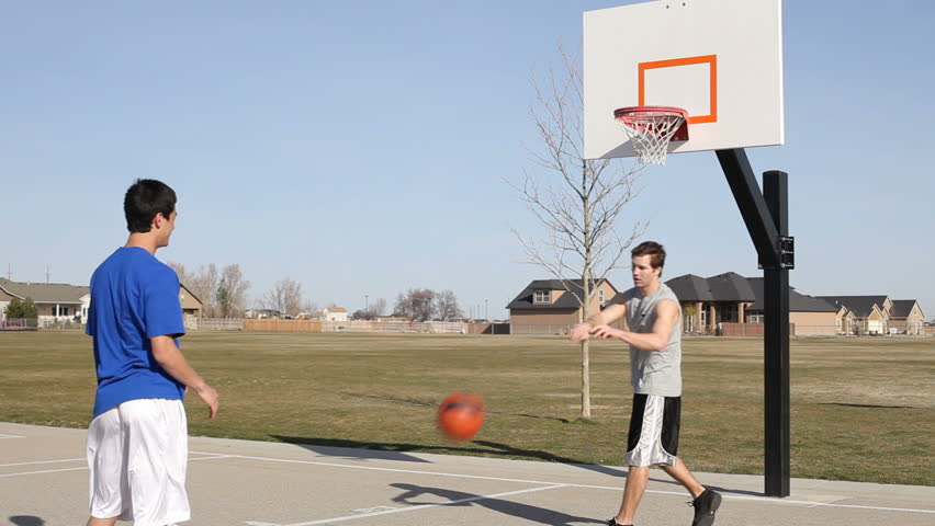 Teen Basketball, Pov Stock Footage Video 4635650  Shutterstock-3178