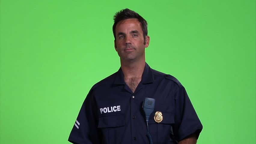 Header of Policeman