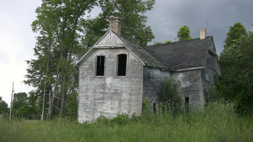 Haunted House  Abandoned Farmhouse in Stock Footage Video (100%  Royalty-free) 479374 | Shutterstock