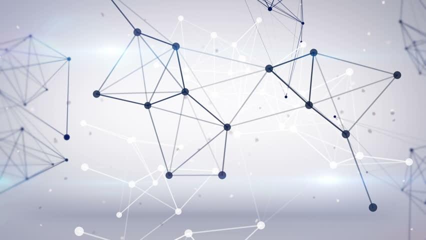 Technology network loop background | Shutterstock HD Video #4865030