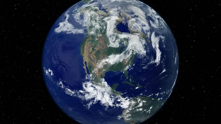 Earth Usa United States Of America Stock Footage Video