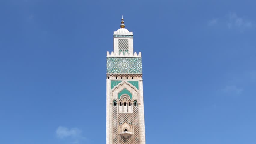 Grand Mosque of Hassan II in Casablanca, Morocco, North Africa