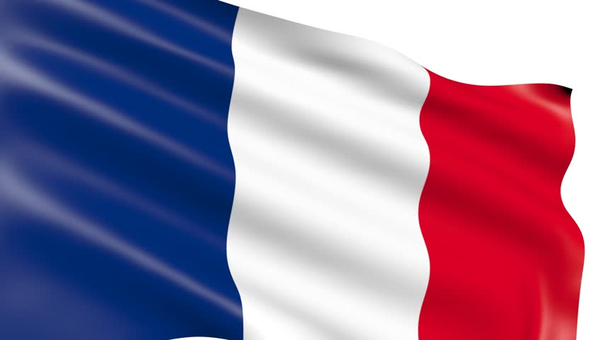 french flag  video stock footage video  100  royalty
