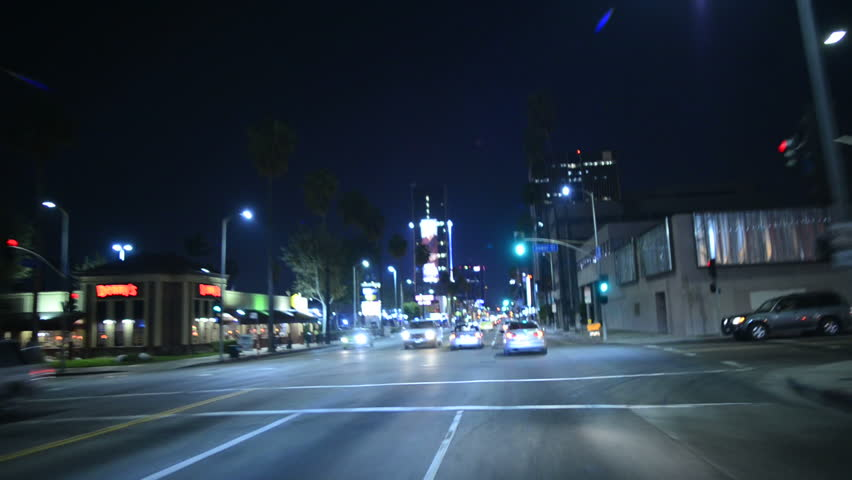 Driving POV Hollywood 06 USA | Shutterstock HD Video #4993544