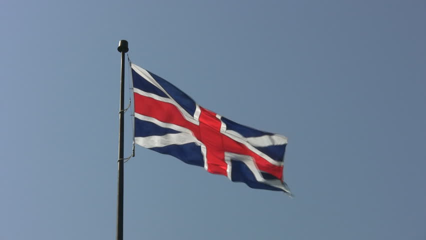 Union Flag at Fort York, Toronto. This version of Britainâ??s â??Union Jackâ? was in use from 1606 to 1800 before the red horizontal stripes (representing Ireland) were added to the flag.
