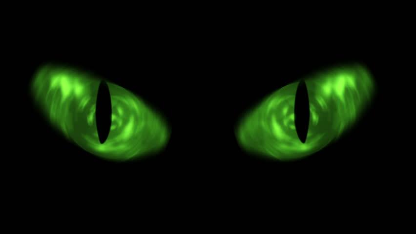 Creepy Cats Eyes