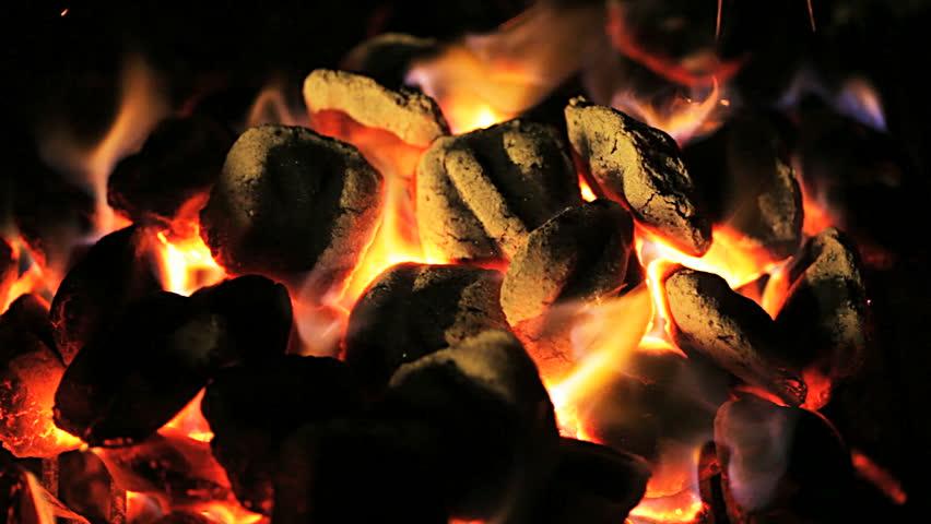 Charcoal fire  #5089265