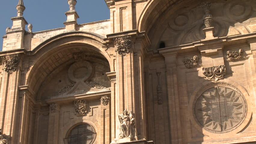 Old building in Granada, Spain   Shutterstock HD Video #5105954