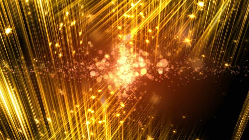 Vj Fractal Gold Kaleidoscopic Background Background