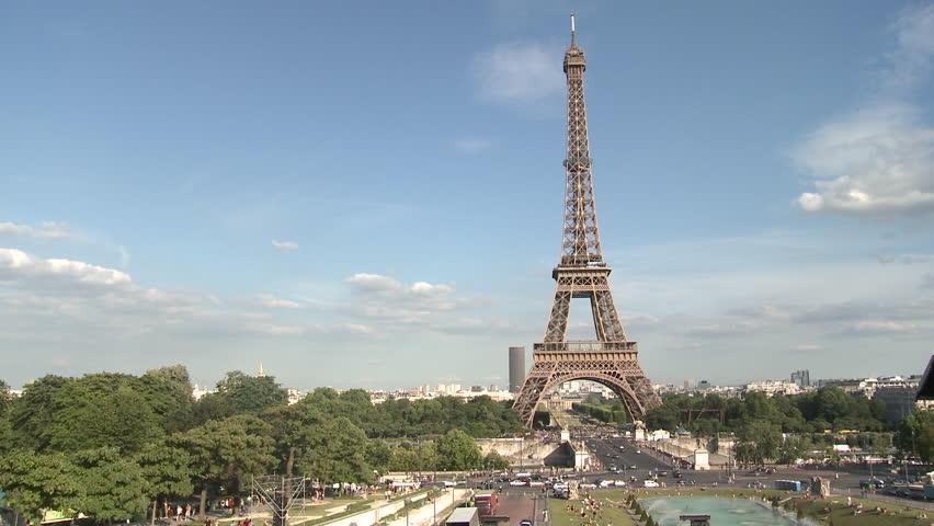 PARIS, FRANCE - 2010: Eiffel Tower   Shutterstock HD Video #5135714