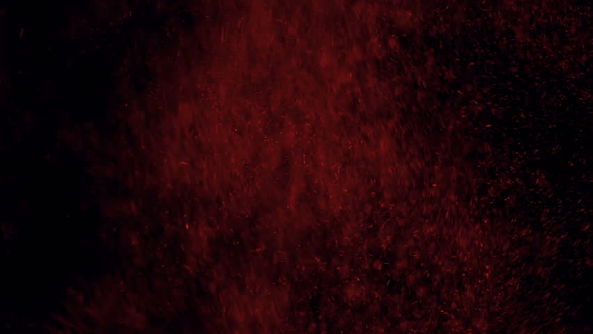 Red smoke and ashes against black background | Shutterstock HD Video #5168324
