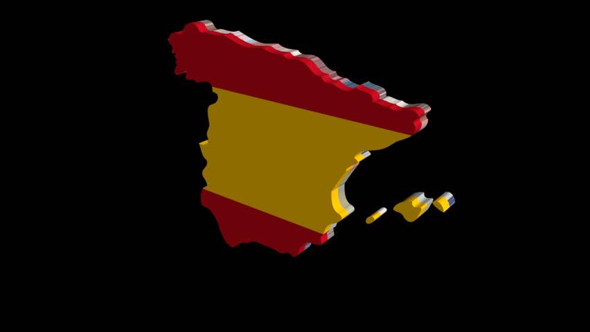 Fluttering Uganda Map Flag Animation Stock Footage Video - Uganda map hd