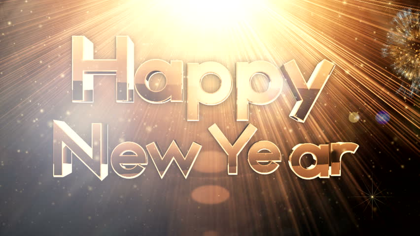 Golden new year celebrations ( Gold Special Series )  | Shutterstock HD Video #5252864