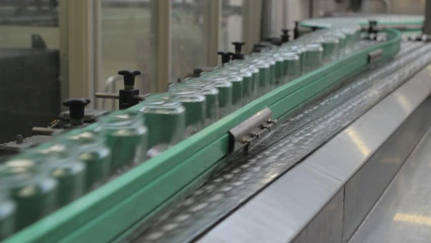 Jam Factory - Empty jars