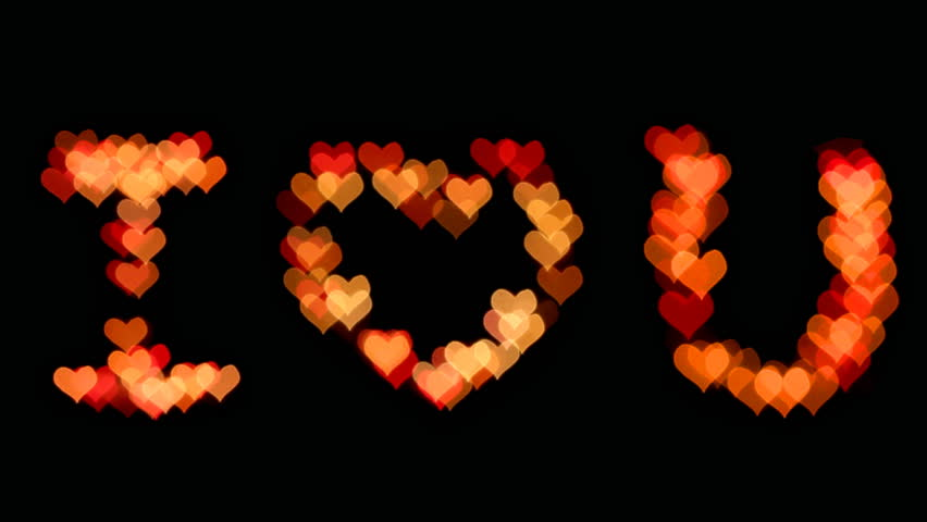 I Love You Lights Blinking Stock Footage Video (100% Royalty-free) 5354174  | Shutterstock