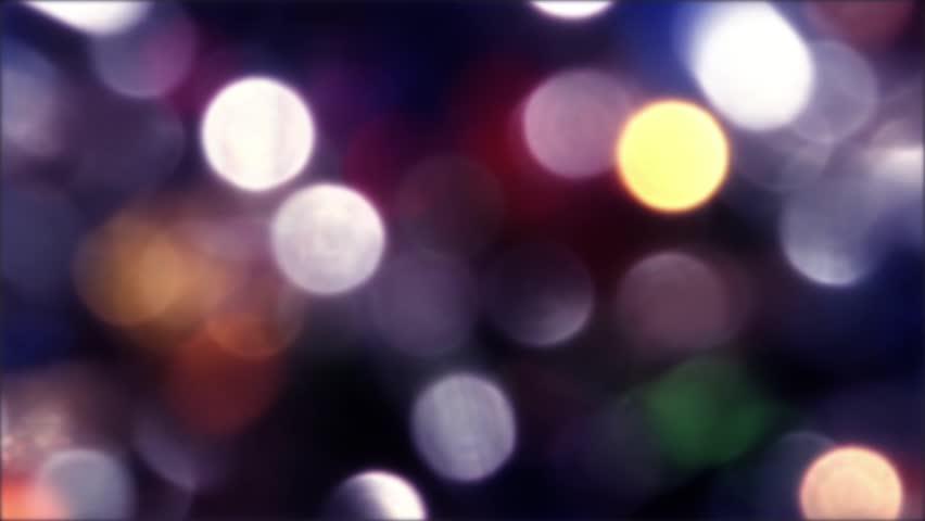 Event Bokeh Loop Light Drops Blue Pink Cyan White - Bokeh us map