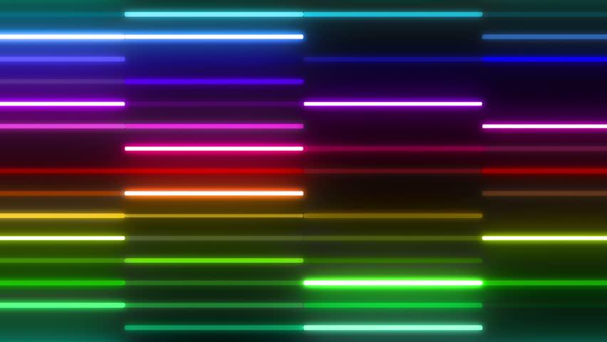 Neon light Tube. | Shutterstock HD Video #5437304