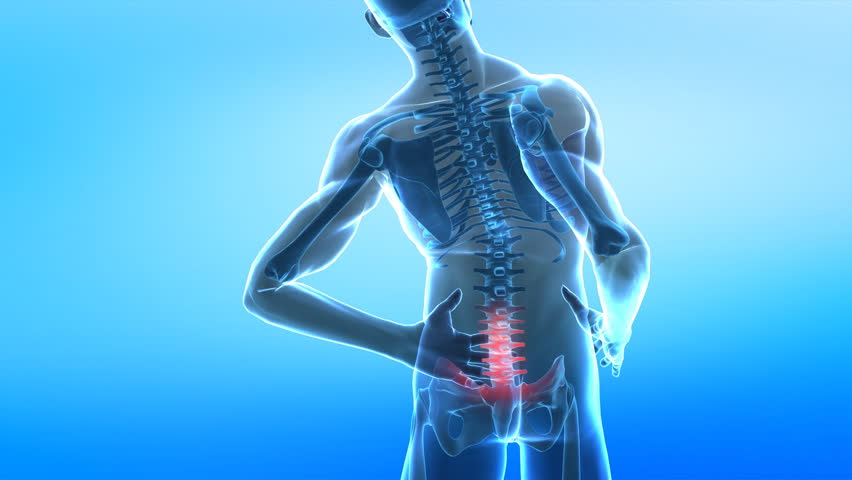 Spread pain in spine
