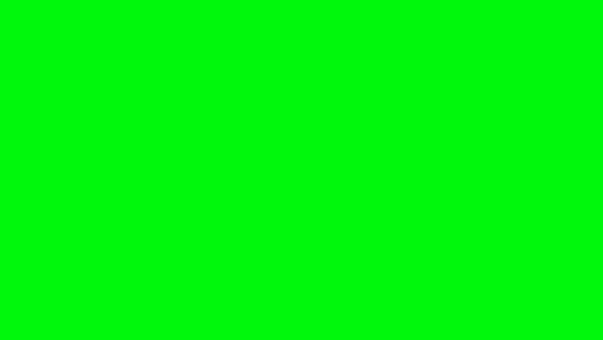 Green screen area disintegrates into puzzle pieces   Shutterstock HD Video #5450504