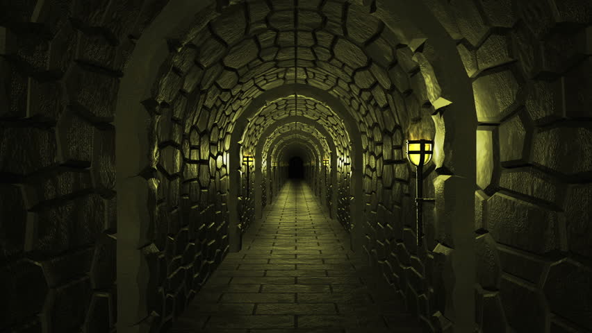 Dark Scary Dungeon High Definition Stock Footage Video