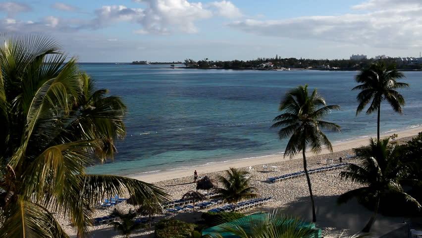 Caribbean Vacation - beach view