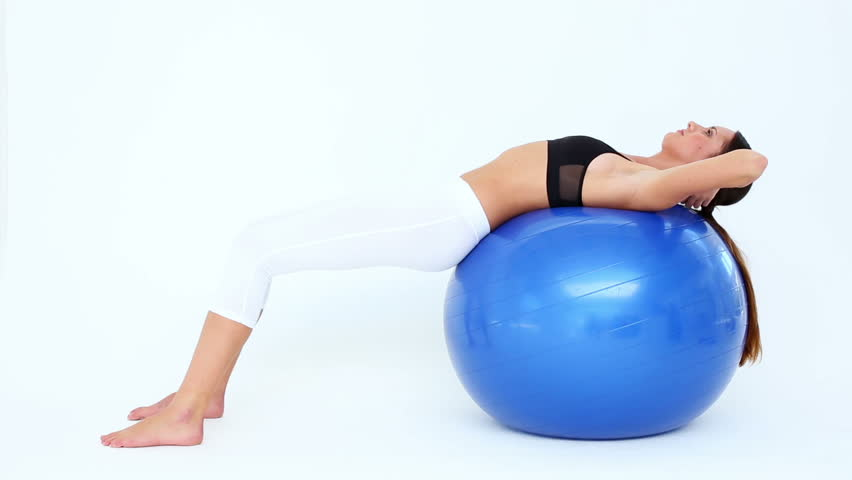 Image result for beautiful girl on exercise ball hd