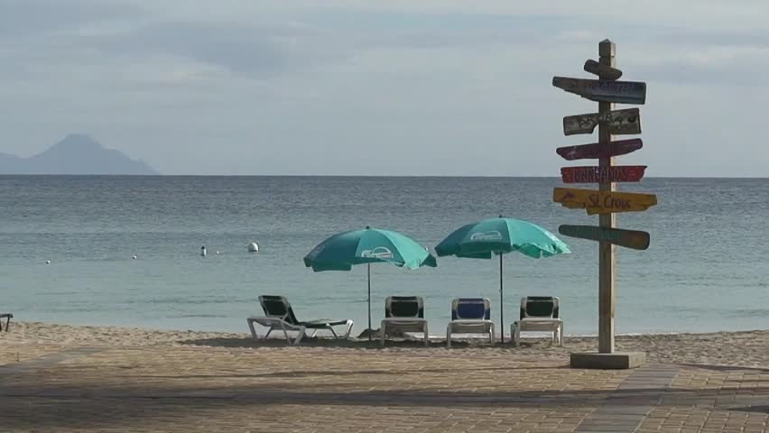 Little Divi Bay Resort, Saint Stock Footage Video (100% Royalty-free)  5560184 | Shutterstock